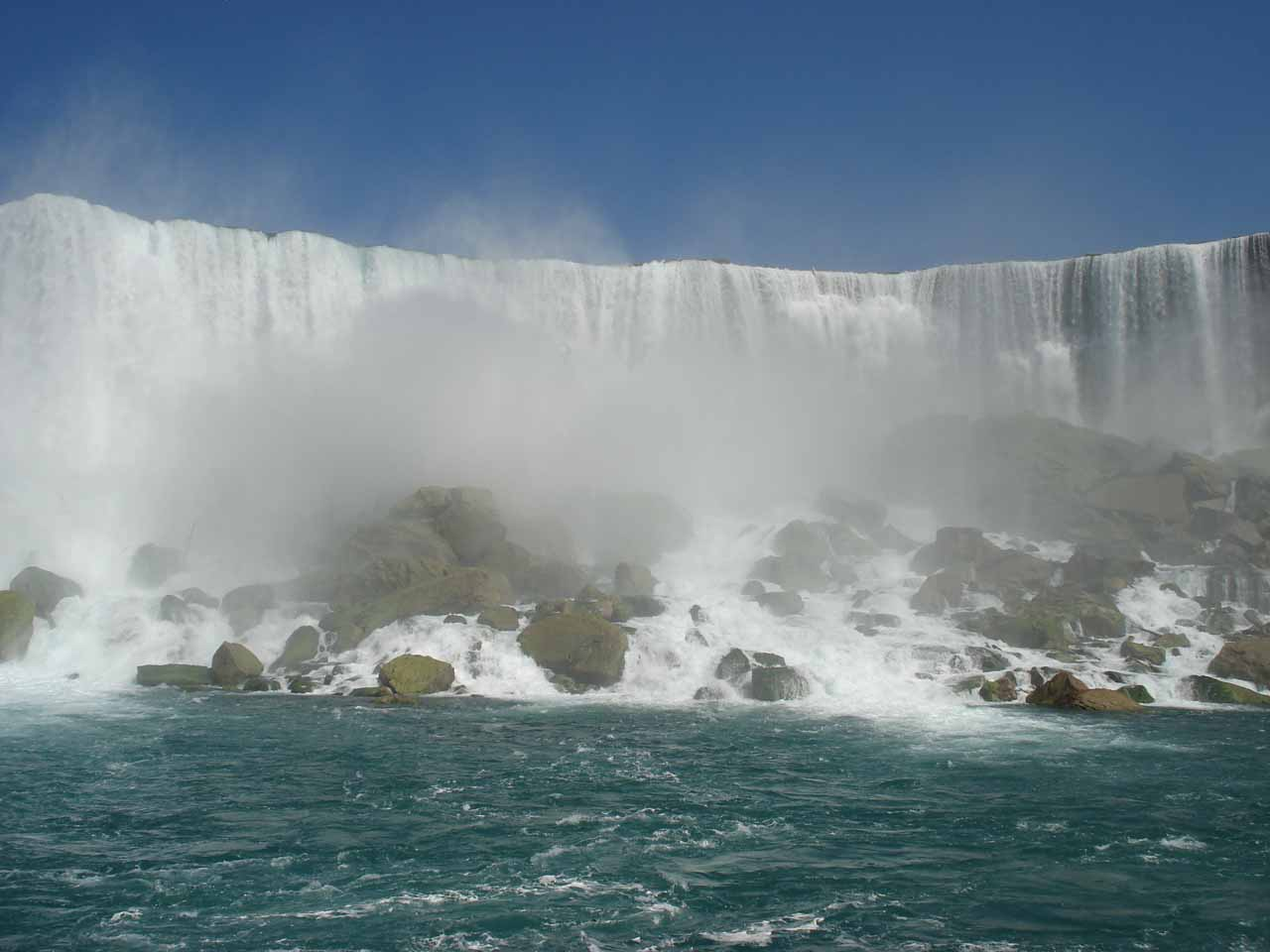 In-your-face view of American Falls