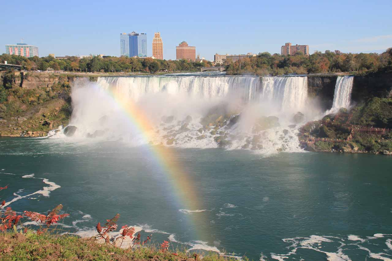 American Falls and rainbow