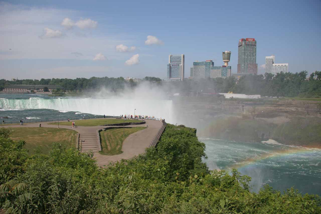 View of Horseshoe Falls from Terrapin Point on the American Side