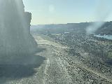 Niagara_and_Crystal_Springs_001_iPhone_04022021 - Descending the unpaved road leading to Niagara and Crystal Springs