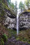 Niagara_and_Pheasant_Creek_Falls_068_04082021 - Looking directly upstream from the banks of Pheasant Creek towards the Pheasant Creek Falls