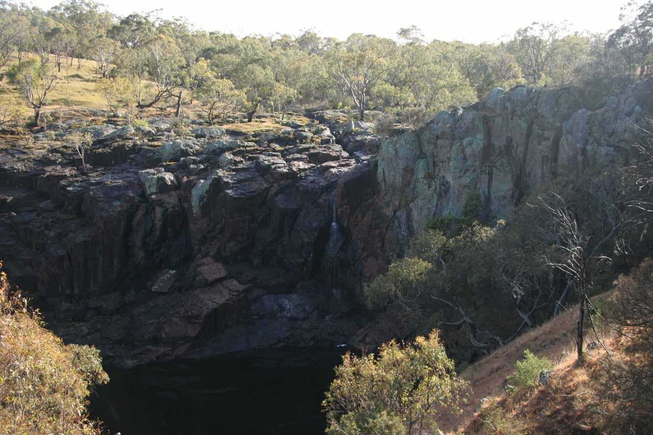 What's left of Nigretta Falls