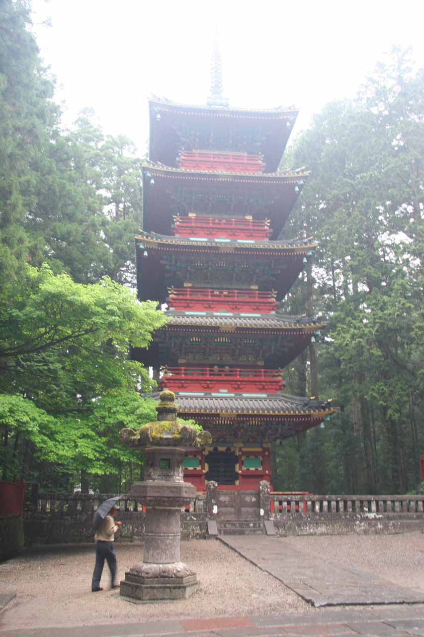 Pagoda near Toshogu Shrine Entrance