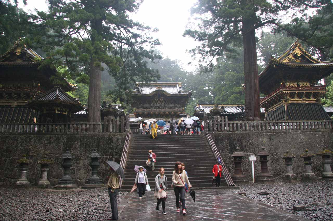 We based ourselves in Nikko to enable day trips to places like Yu-daki, but Nikko itself featured UNESCO World Heritage places like the Toshogu Shrine
