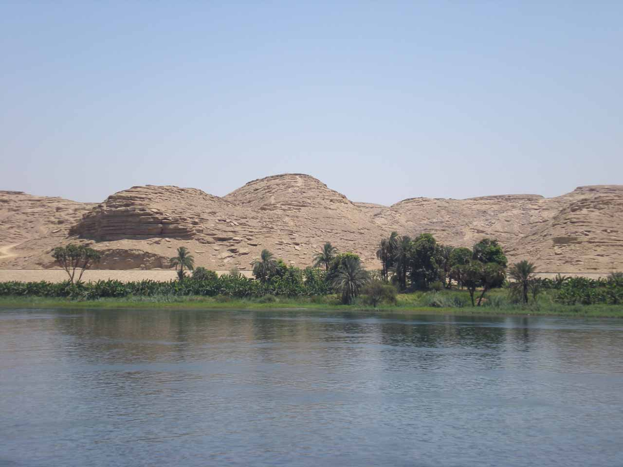 Scenery along the Nile