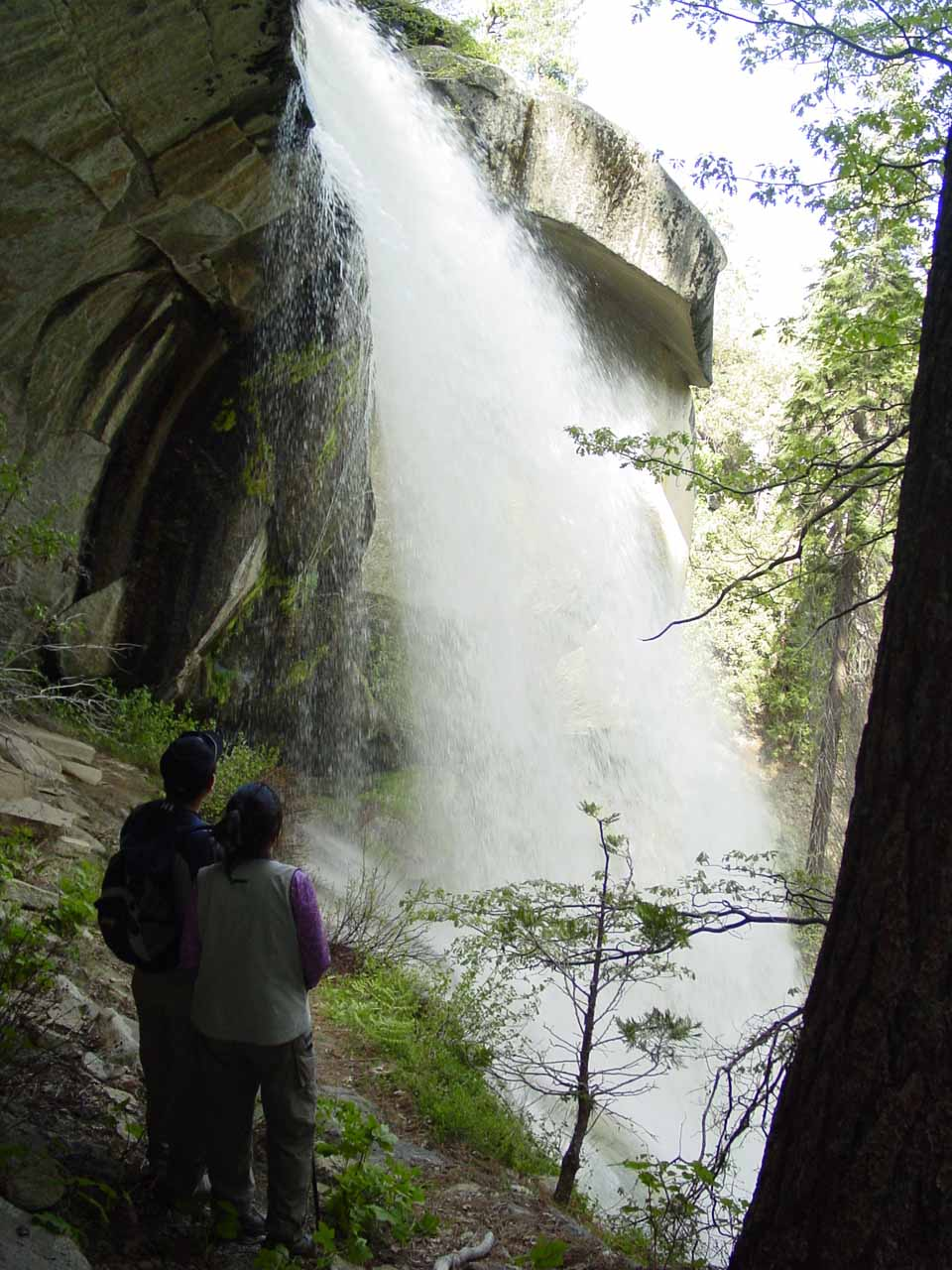 My parents checking out Nobe Young Falls
