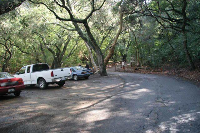 Nojoqui_Falls_002_02132009 - The parking lot at the trailhead for Nojoqui Falls