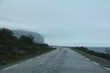 Nordkapp_pursuit_008_07062019 - On the foggy coastal road where I took the E69 towards Nordkapp