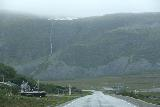 Nordkapp_pursuit_012_07062019 - Approaching a very tall ephemeral waterfall as I was taking the E69 towards Nordkapp