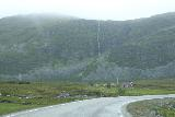 Nordkapp_pursuit_014_07062019 - Another look at the very tall ephemeral waterfall as I was on the E69 pursuing Nordkapp