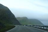 Nordkapp_pursuit_028_07062019 - More of the scenic coastal drive along the E69 though the persistent fog wasn't a good sign