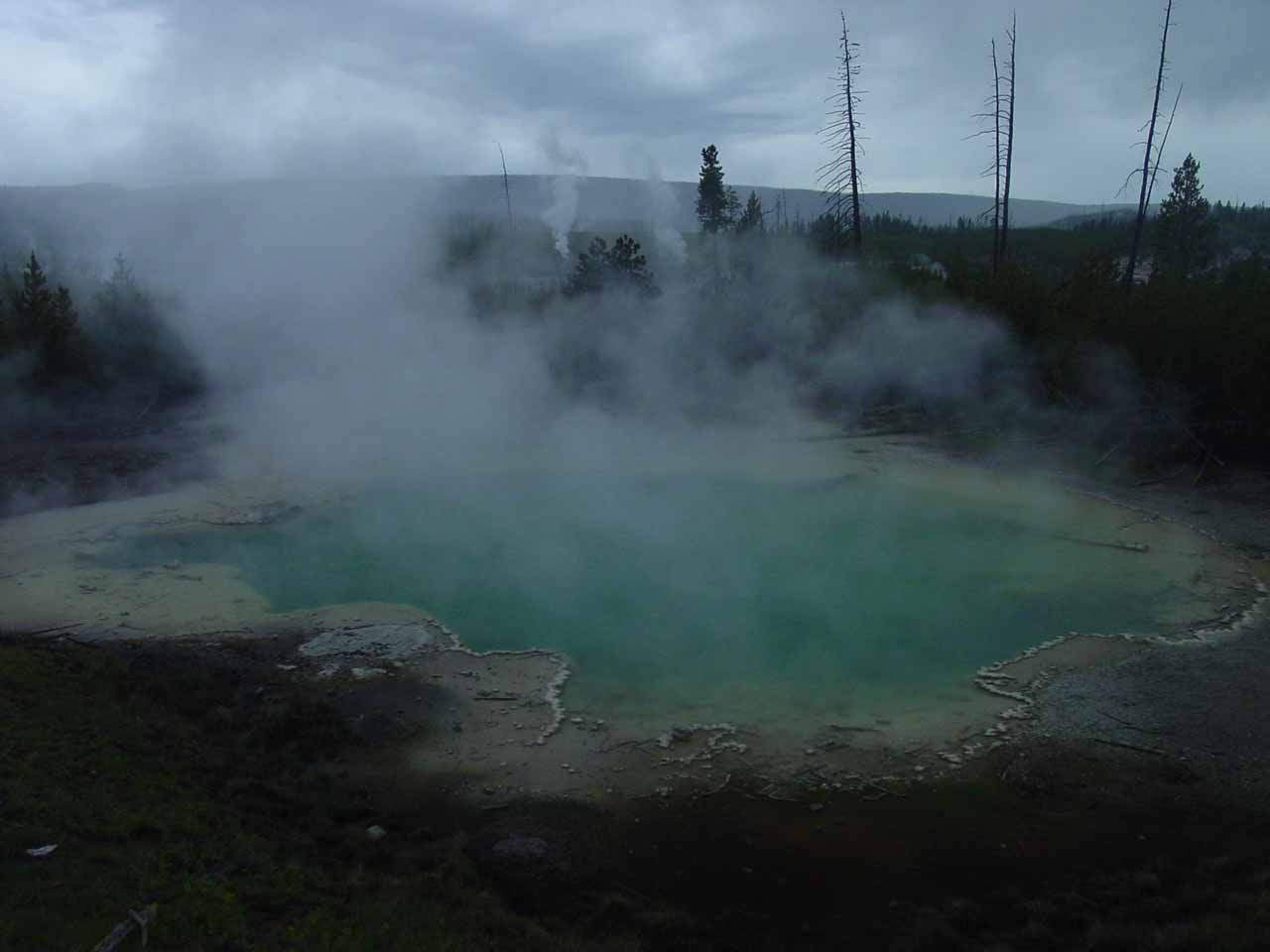 A pretty large thermal spring in Norris