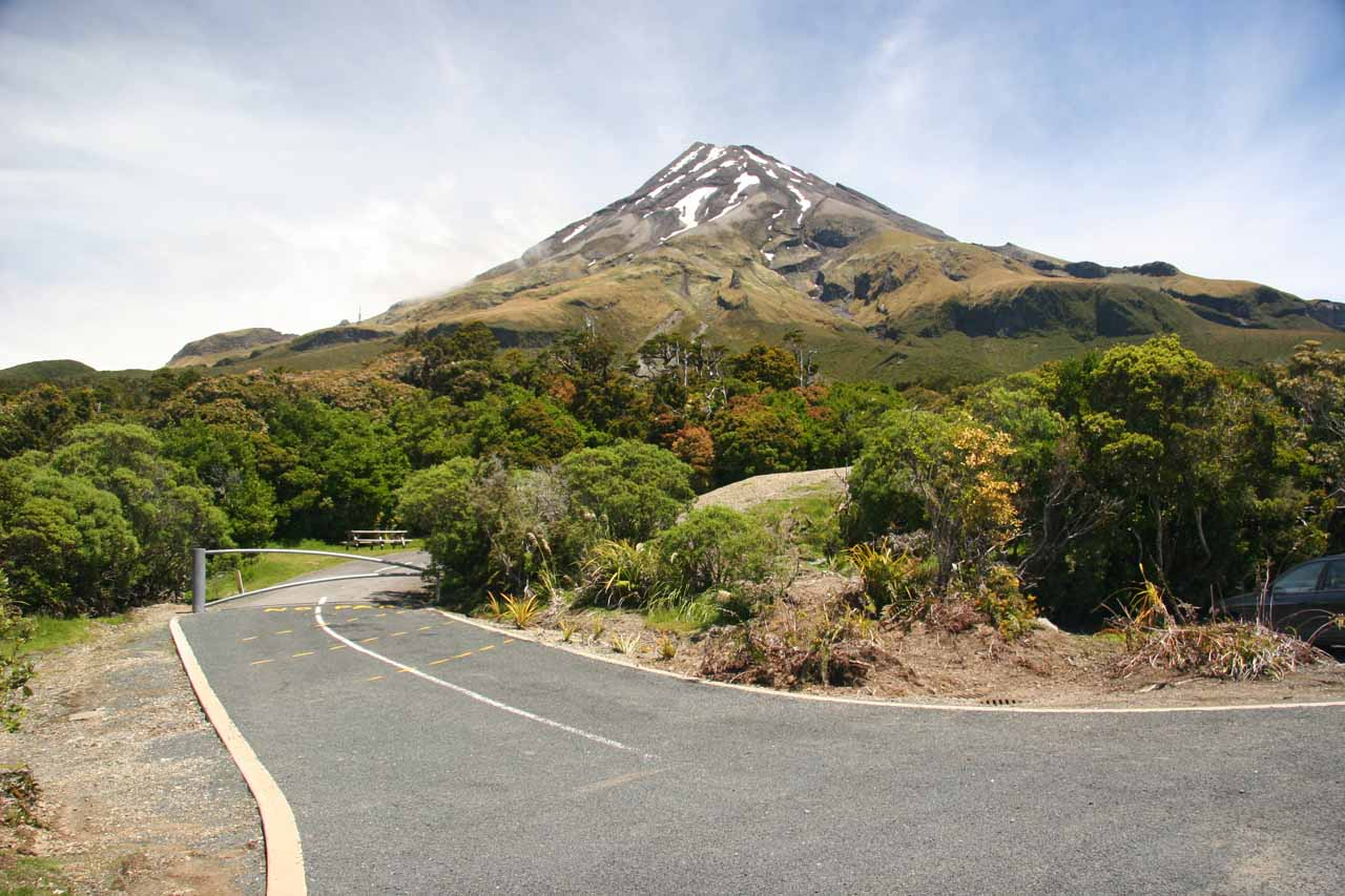 On the day we visited Omaru Falls, we started with a long drive out of New Plymouth and North Taranaki then eventually spent the night at Whangamata