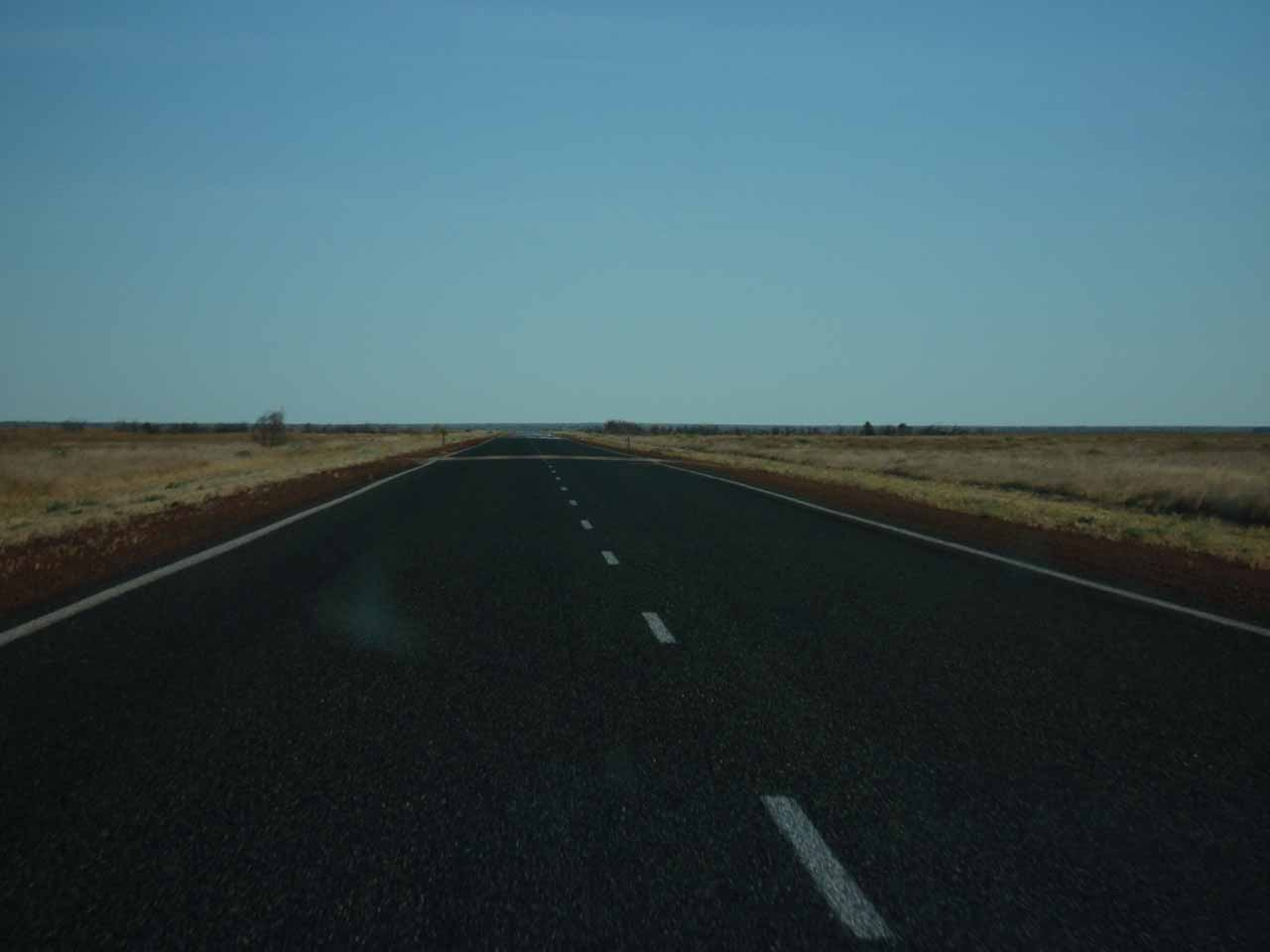 More driving through nothingness along the Northern Hwy