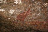 Nourlangie_Rock_009_06062006 - Another drawing of a kangaroo at Nourlangie Rock