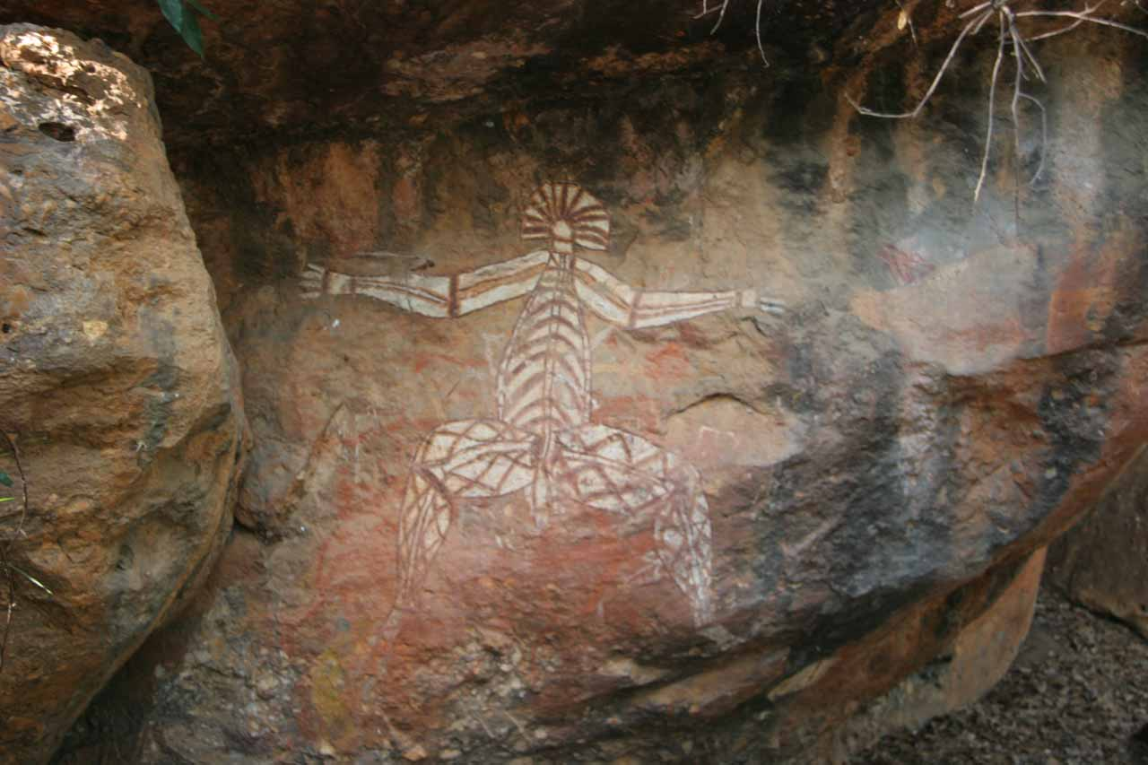 Part of what makes Kakadu National Park a powerfully immersive experience as well as a UNESCO World Heritage Site is the chance at seeing Aboroginal artifacts at Ubirr and Nourlangie Rock