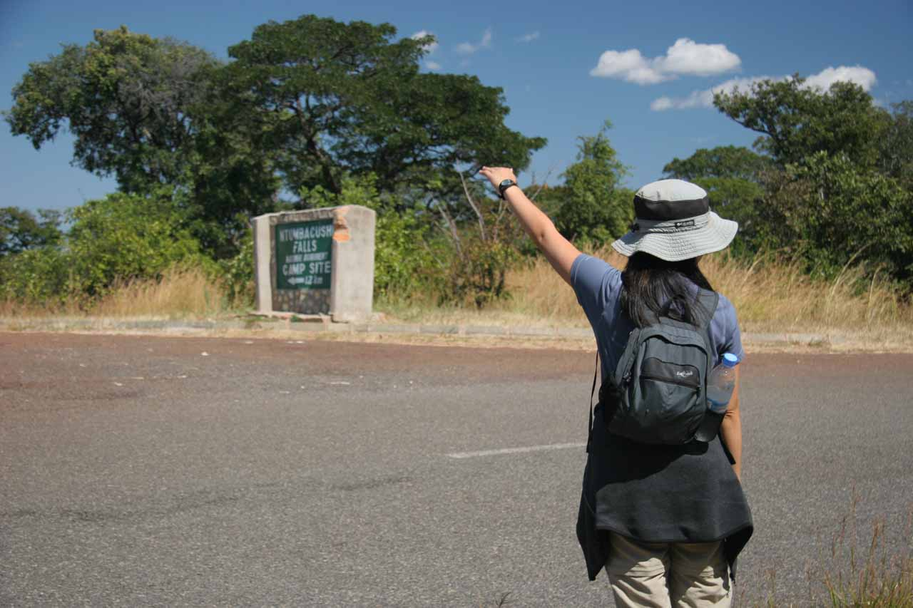 Hitchhiking back to Kawambwa