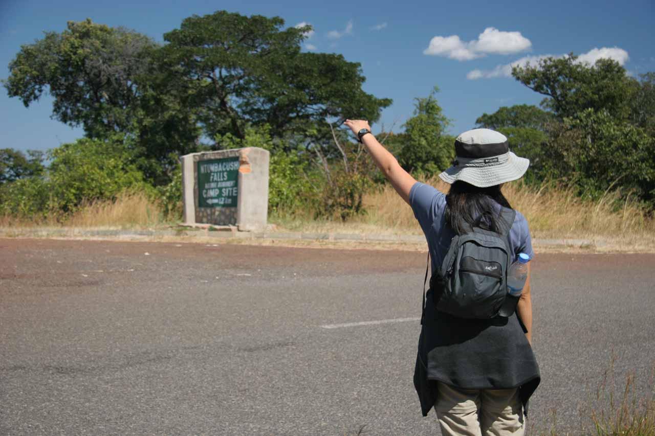 Hitchhiking back to Kawambwa