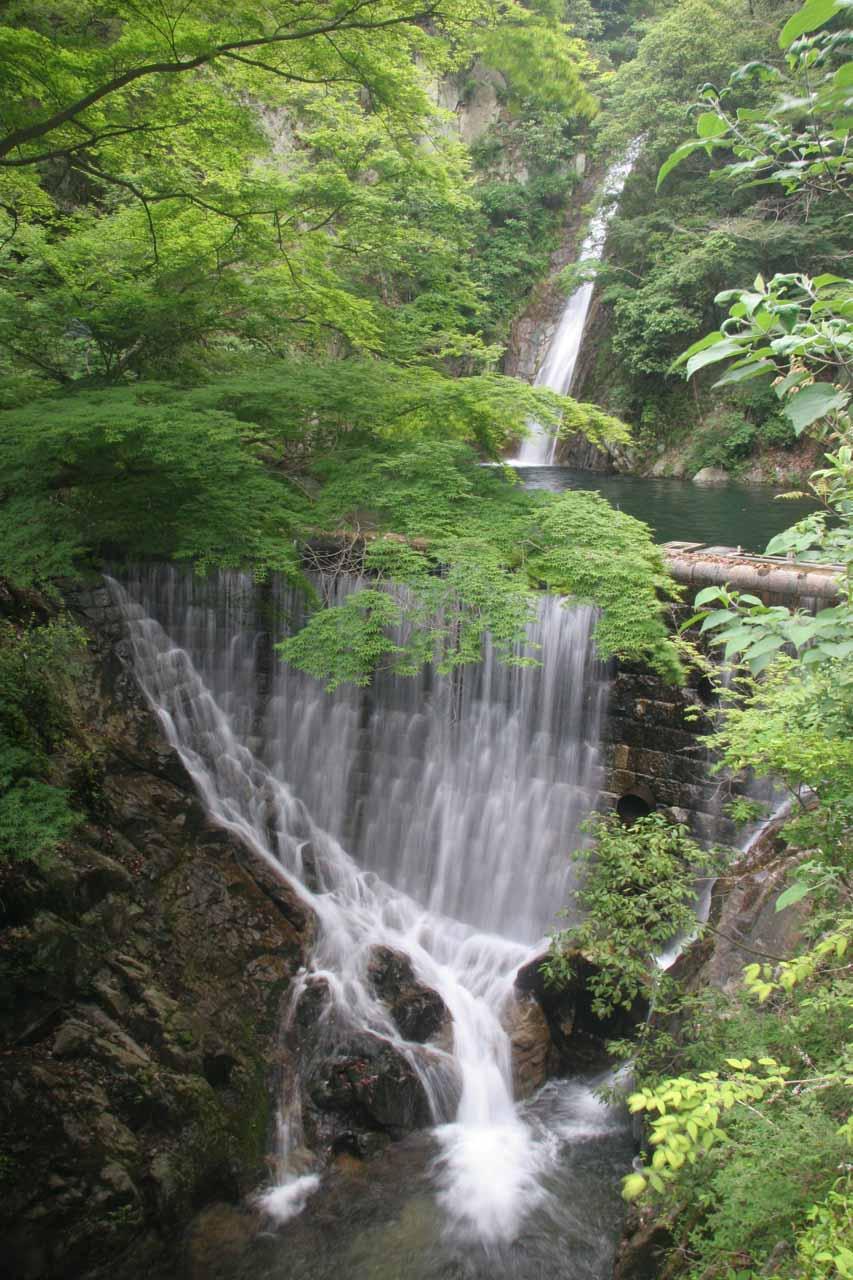 One of the Nunobiki Waterfalls