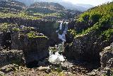 Nykurhylsfoss_041_08092021 - Focused look at the Nykurhylsfoss Waterfall