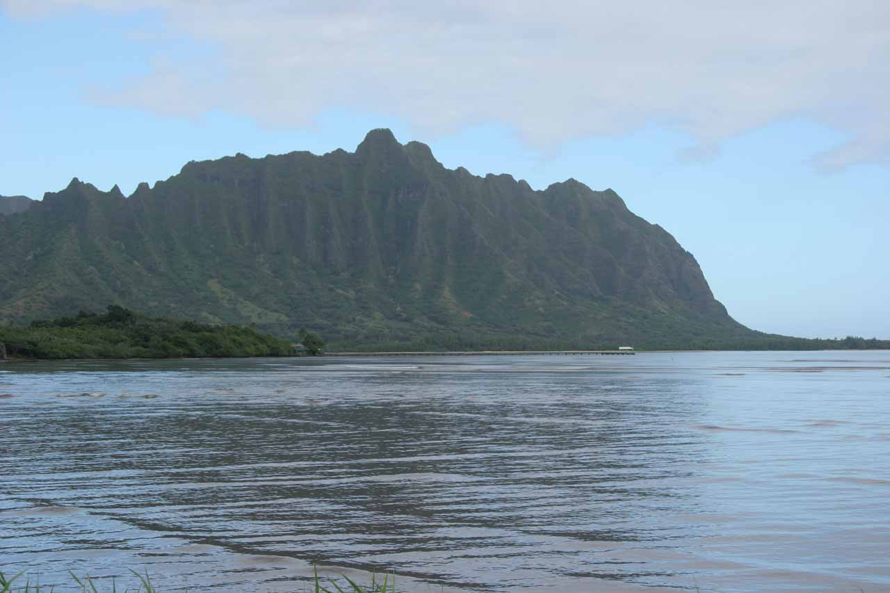If you're looking for something quieter and more off the beaten path, we noticed that O'ahu's East Shore between Kane'ohe and La'ie seemed to be pretty laid back