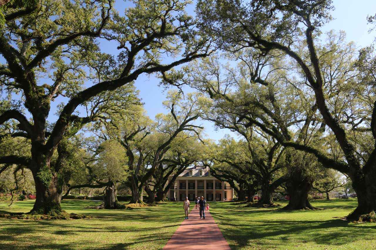 Between Baton Rouge and New Orleans, we took the time to visit both the Oak Alley Plantation (which apparently was filmed in several movies and TV shows) and the very educational Laura Plantation