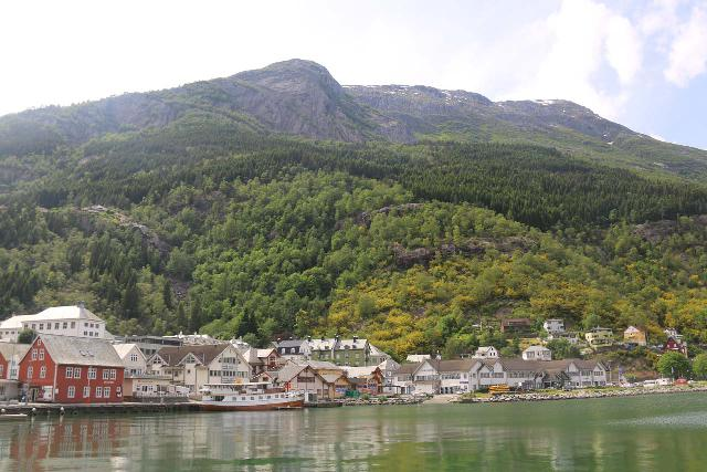 Odda_005_06232019 - On the north end of the Odda Valley and the head of the Sørfjord was the beautifully-situated town of Odda, which was the main center of the Odda Municipality