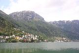 Odda_007_06232019 - Looking ahead towards the northern end of Odda and some neighboring town hugging the Sorfjorden
