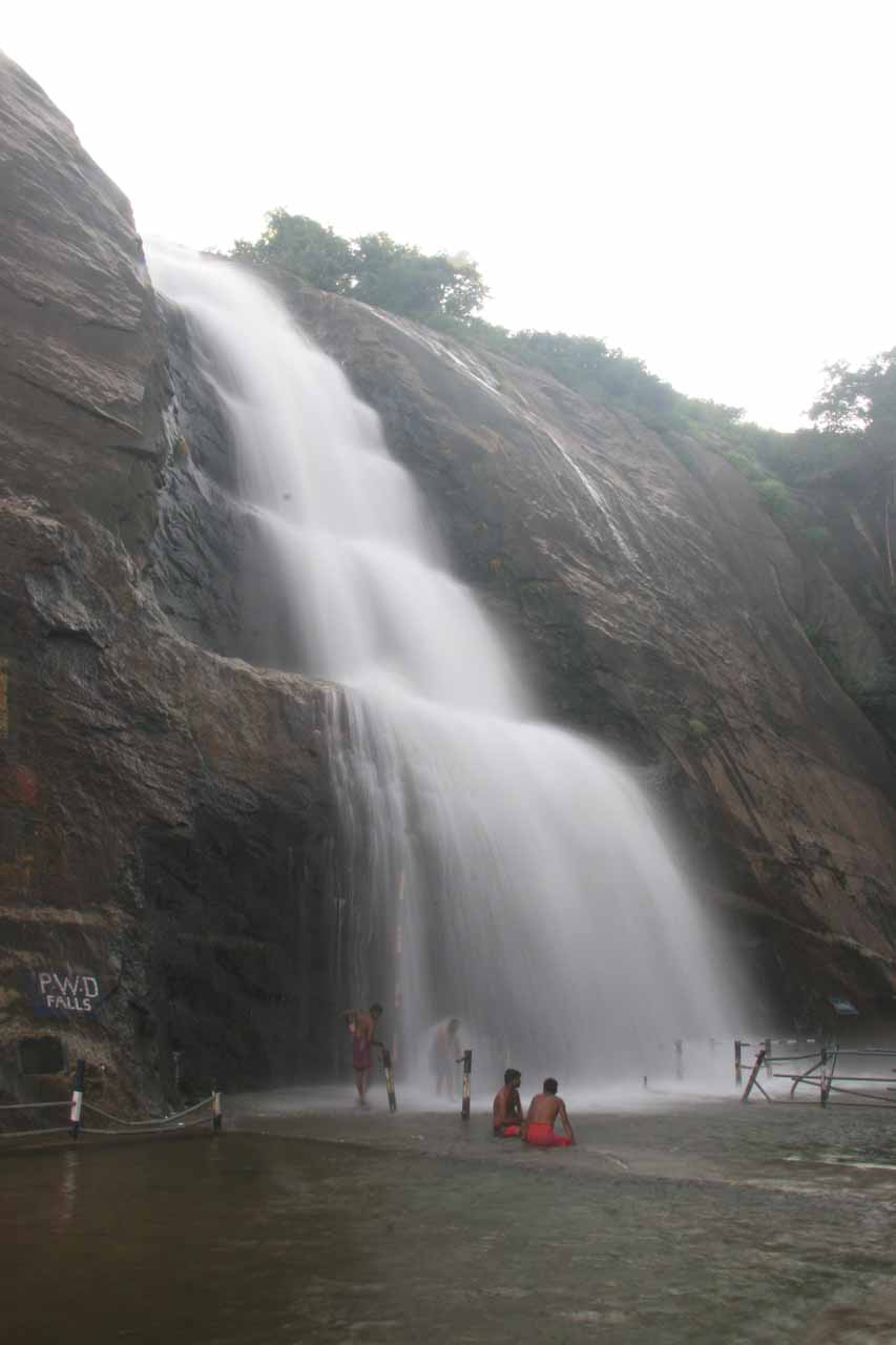 Another look at the upper Old Courtallam Falls