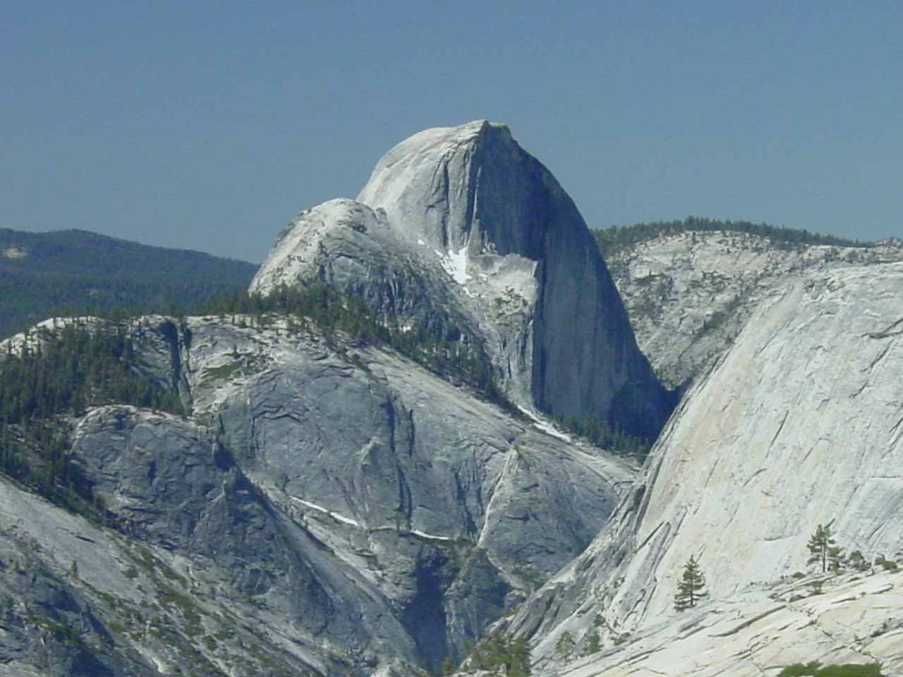 Half Dome from Olmstead Point