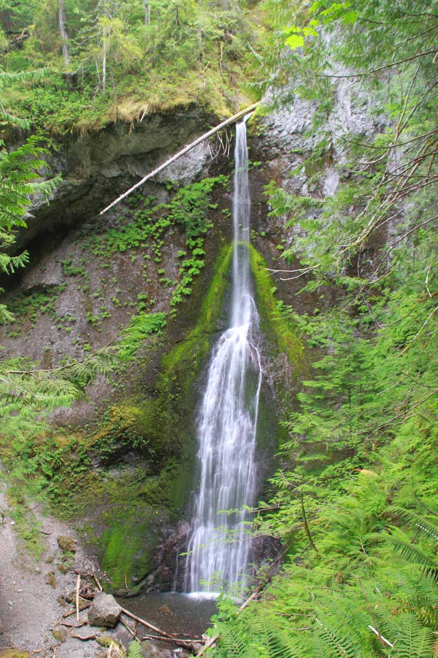 Marymere Falls from the upper viewpoint