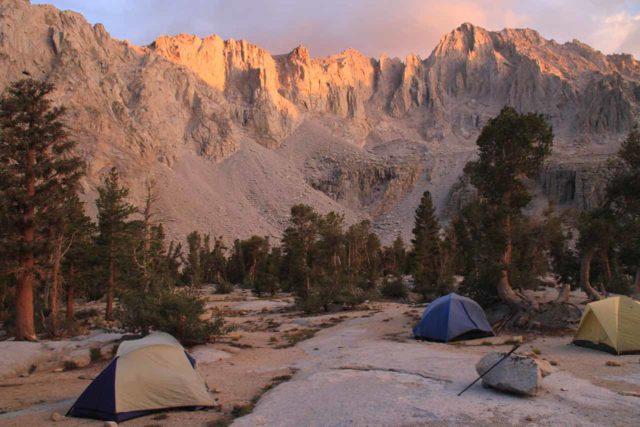 Onion_Valley_353_08302013 - Setting up camp near Matlock Lake