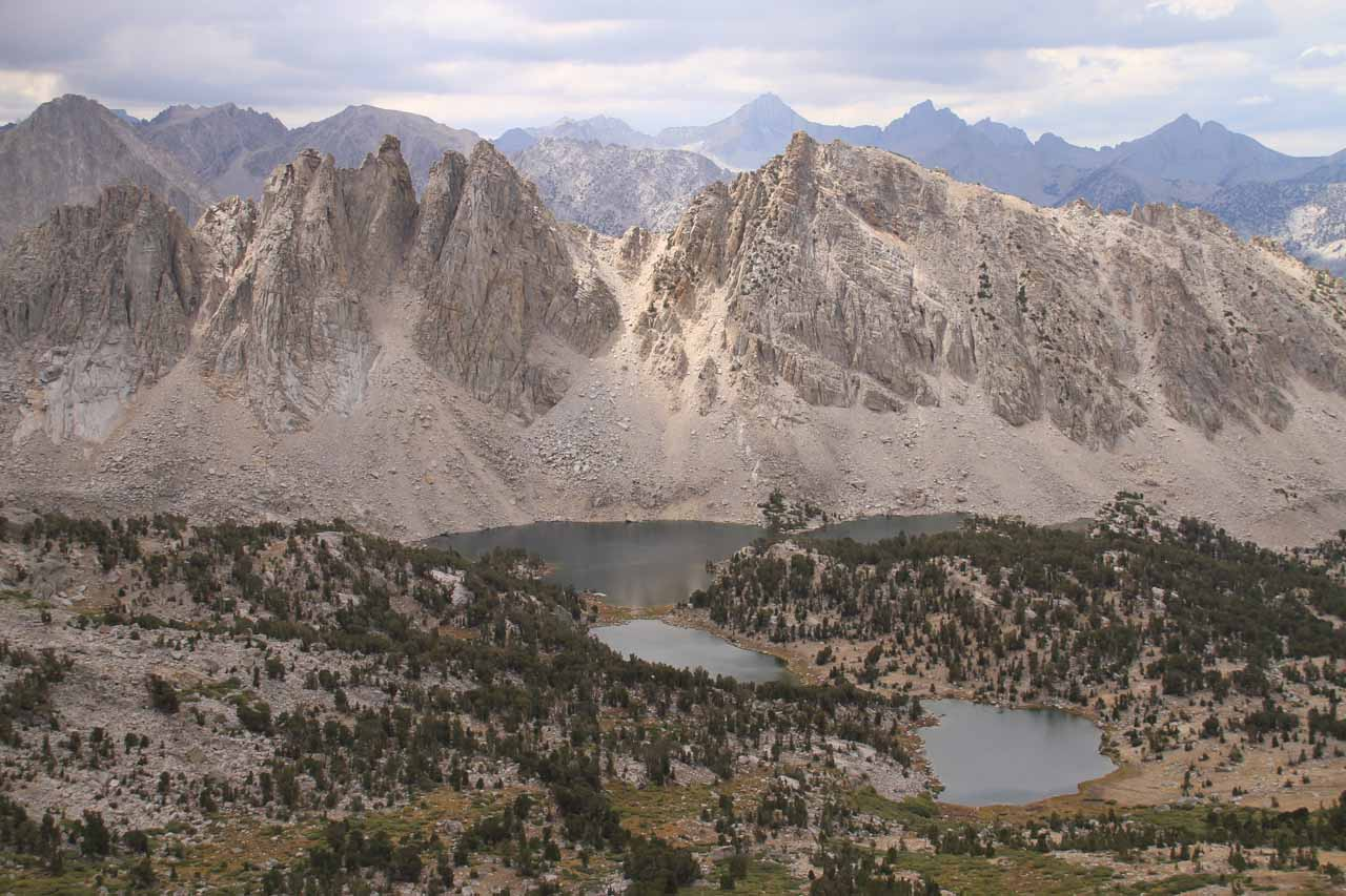 Kearsarge Lakes and Kearsarge Pinnacles