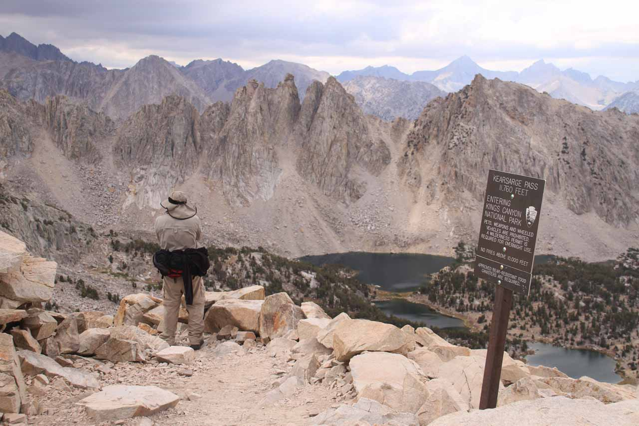 Finally made it up to Kearsarge Pass