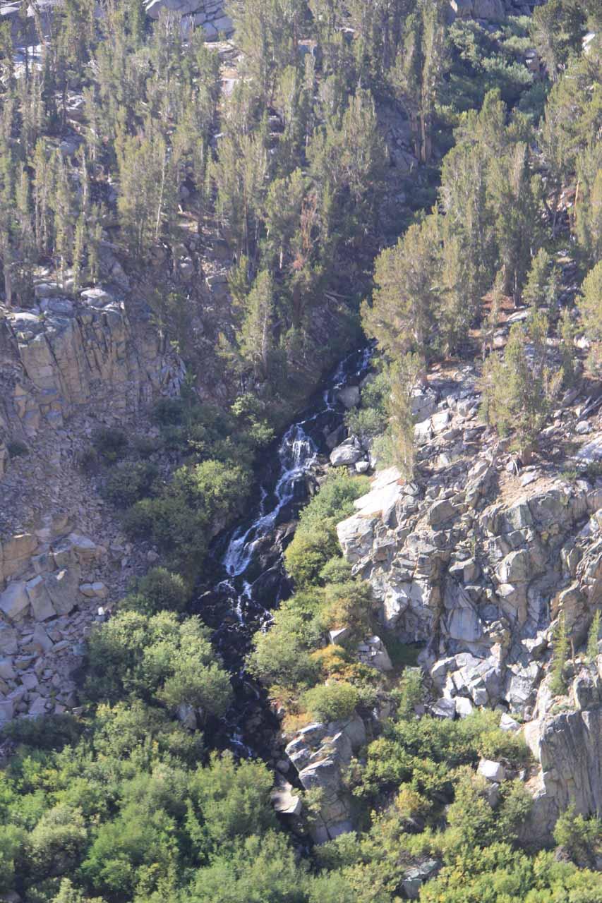 Onion Valley Waterfalls - Kearsarge Pass & Mountain Cascades