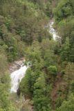 Ordesa_022_06162015 - Zoomed in look towards the Cascada Tamborotera (bottom) and Cascada Abetos (top)