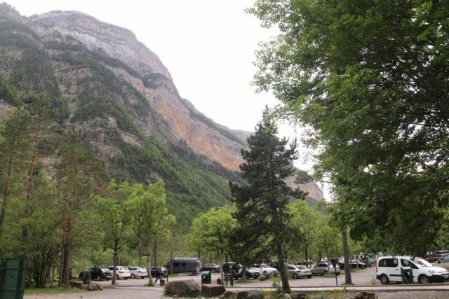Ordesa_242_06162015 - The car park at Pradera de Ordesa in Parque Nacional de Ordesa y Monte Perdido