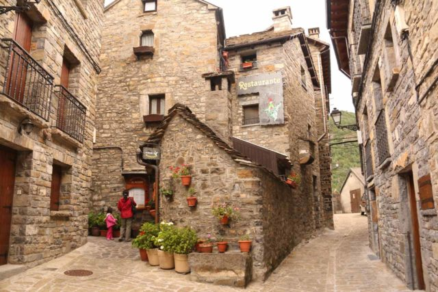 Ordesa_260_06162015 - On the days that I hiked in Ordesa y Monte Perdido National Park, we were staying in the charming village of Torla, which featured narrow alleyways and centuries-old stone buildings