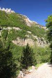 Ordesa_389_06172015 - Looking back across the Río Arazas towards the north-facing cliffs that were uphill around the Cascada de Arripas