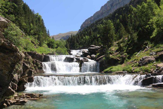 Ordesa_580_06172015 - The Gradas del Soaso, which were a very scenic stretch of cascades on the Río Arazas