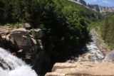 Ordesa_587_06172015 - Looking back over the brink of the bottom tier of Gradas del Soaso