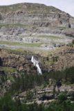 Ordesa_906_06172015 - Focused look at the Cascada de Cotatuero as seen from the mirador on the south side of the Río Arazas