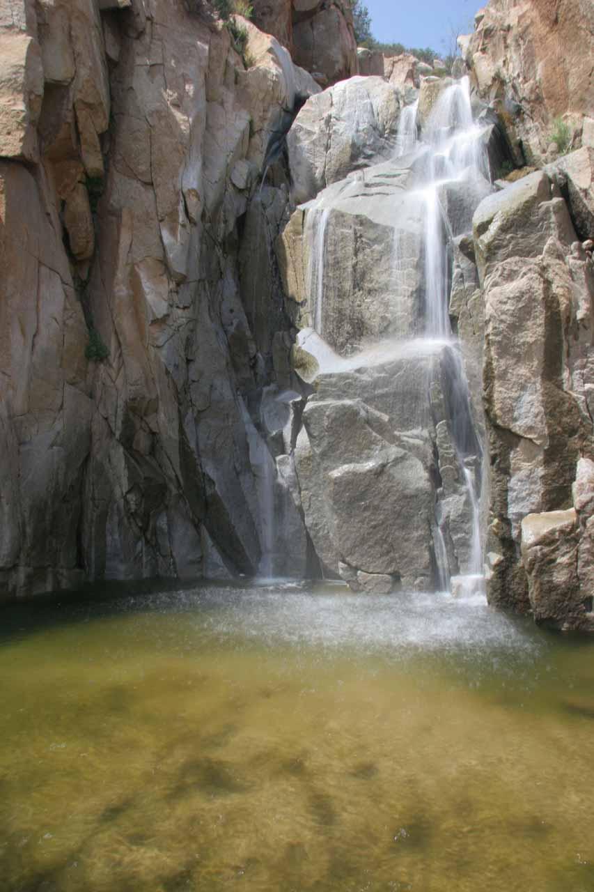Ortega Falls Cleveland National Forest Lake Elsinore - California waterfalls map