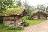 Oslo_476_06182019 - Looking towards some turf-roofed houses at the Norsk Folkemuseum in Oslo