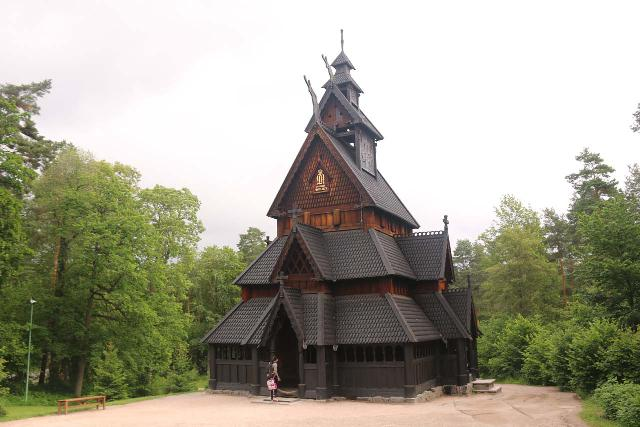 Oslo_498_06182019 - One of the cool things we did while in Oslo was to check out the Norsk Folkemuseum, which was an outdoor and interactive museum that included stave churches, re-created or re-located traditional homes, and period actors