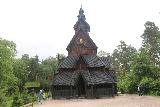 Oslo_508_06182019 - Looking back at the stave church at the Norsk Folkemuseum in Oslo