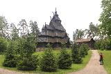 Oslo_525_06182019 - Another look back at the stave church at the Norsk Folkemuseum in Oslo