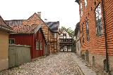 Oslo_615_06182019 - Half-timbered buildings at the Gamlebyen part of the Norsk Folkemuseum in Oslo