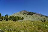 Osprey_Falls_083_08042020 - Looking towards the south face of Bunsen Peak along the Bunsen Peak Road