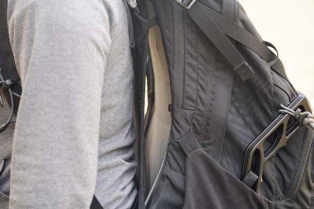 The Osprey Manta 34 Backpack had plenty of back ventilation, which translated into hiking comfort